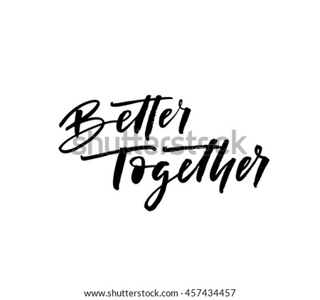 better together card hand