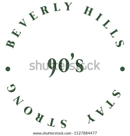 beverly hills circle slogan
