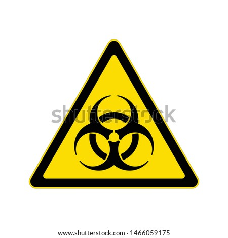 Beware biohazard sign, Hazard warning symbol