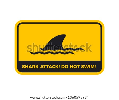 beware of the shark attack