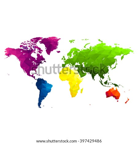 bg bright colorful world map