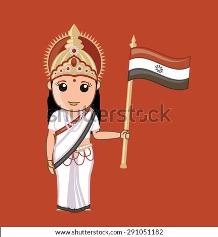 bharat mata   indian god