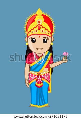 bharat mata   indian goddess