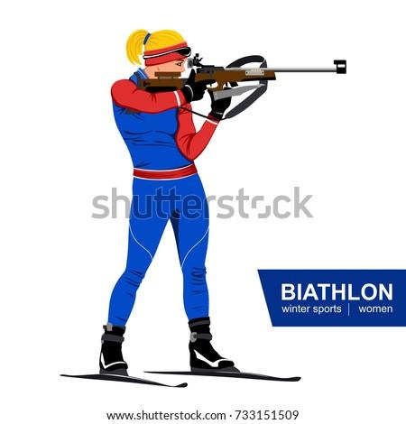 biathlon  women  shooting