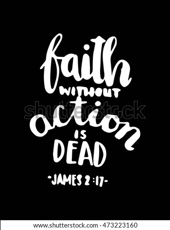 bible quote faith without