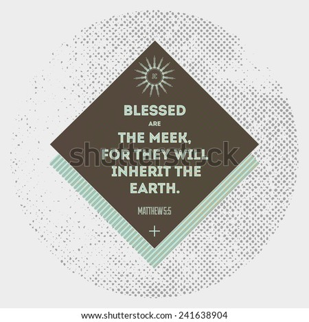 bible quote   hipster design
