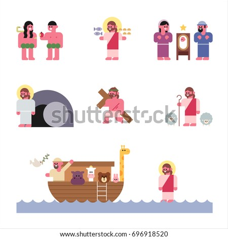bible stories vector