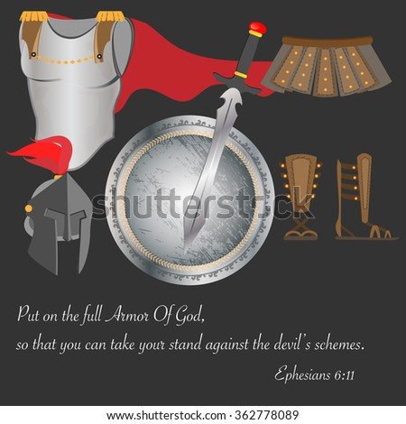 biblical message of god's armor