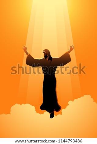 biblical silhouette