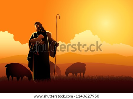 biblical vector illustration of