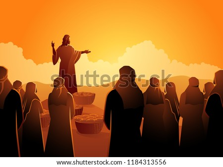 biblical vector illustration