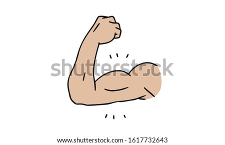 Biceps with male emphasis