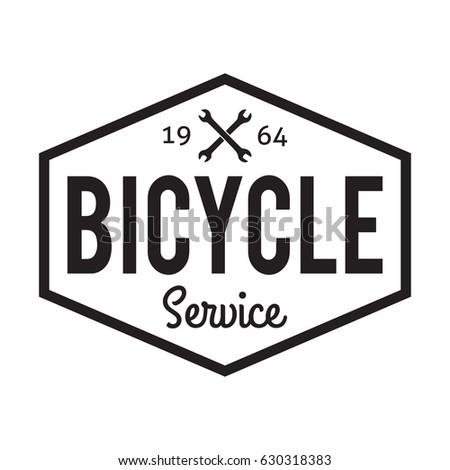 bicycle badge label bike