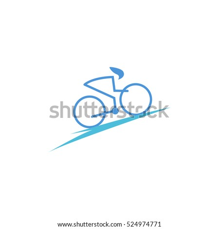 bicycle club logo design