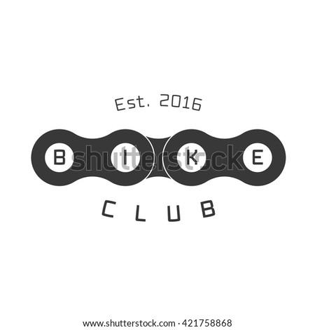 bicycle club vector logo ...