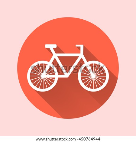 bicycle flat icon.transport icon