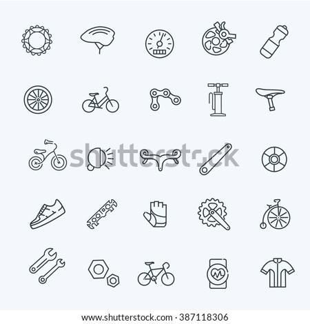 Bicycle icons