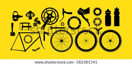 bicycle parts   gears