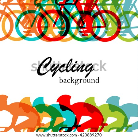 bicycle race or cycling