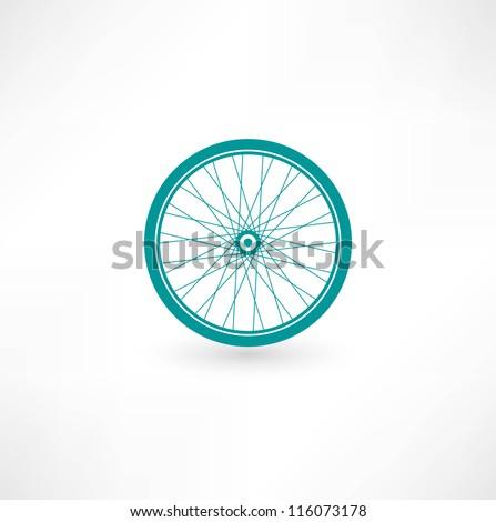 Bicycle Wheel Symbol