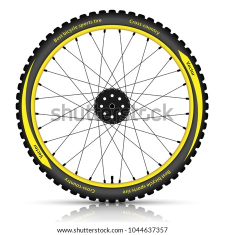 bicycle wheel with a best