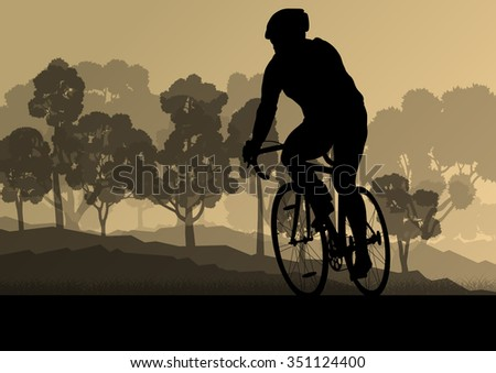bicyclist riding bicycle