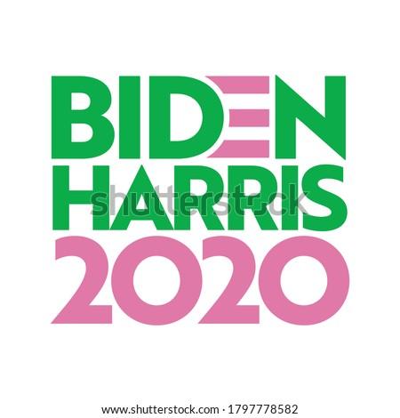 biden harris 2020 vector design