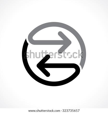 bidirectional arrows icon