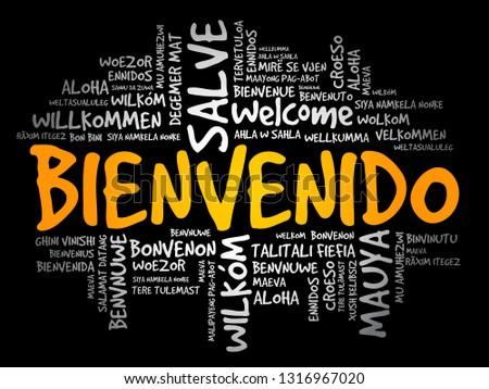 Weihnachtsgrüße Auf Spanisch.Spanische Wörter Muster Kostenlose Vektor Kunst Archiv Grafiken