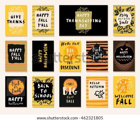 big autumn sale happy fall y