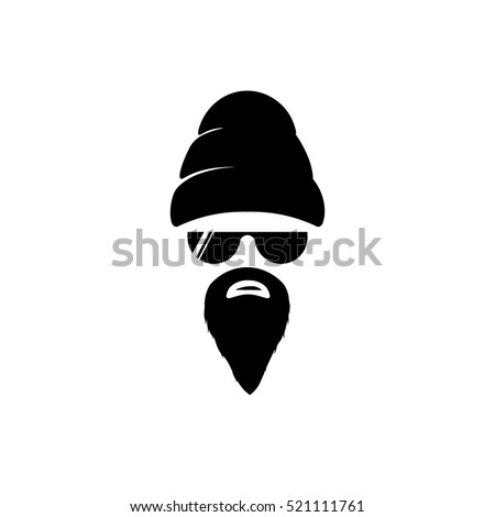 big beard  brother in hat and