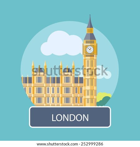 big ben  london  uk poster