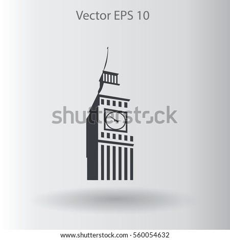 big ben london vector