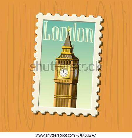 big ben stamp