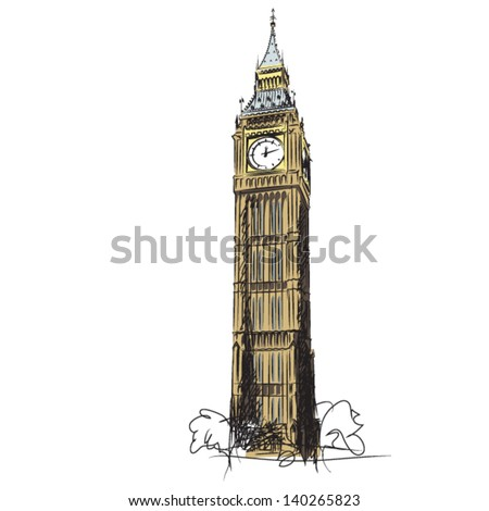 big ben   the clock tower of