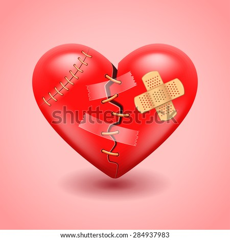 big broken heart photo