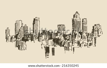 big city  architecture