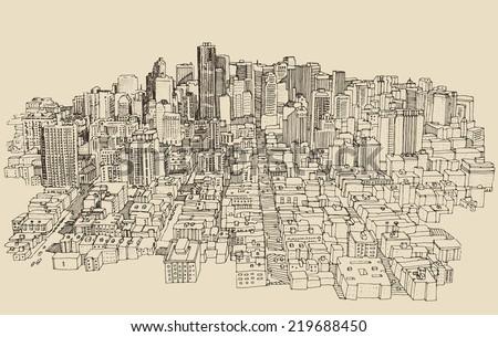 big city  architecture
