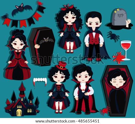 big collection  dracula vampire