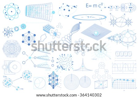 big collection of elements