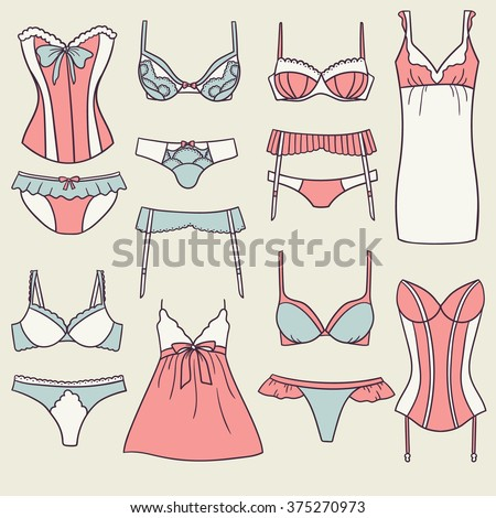 06898aa4d2 Big collection of women s bras and panties