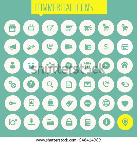 Big commercial icon set