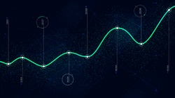 Big data algorithms visualization technologies infographic analytic