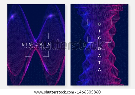Big data background. Digital technology abstract concept. Artificial intelligence and deep learning. Tech visual for science template. Industrial big data background.