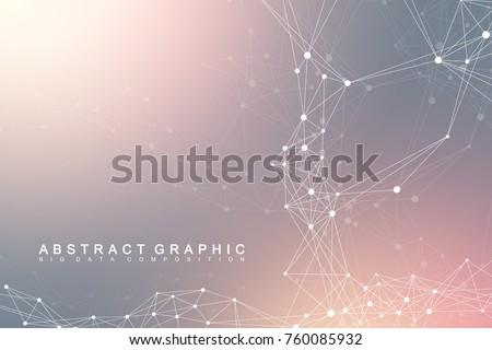 big data complex graphic
