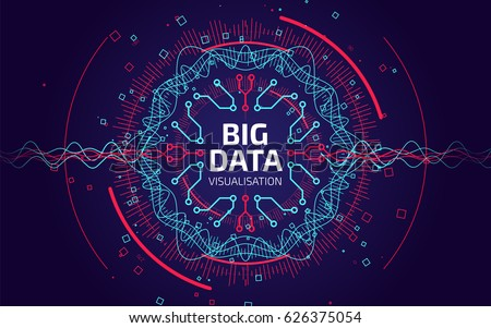 stock-vector-big-data-visualization-fractal-element-with-lines-and-dots-array-big-data-connection-complex