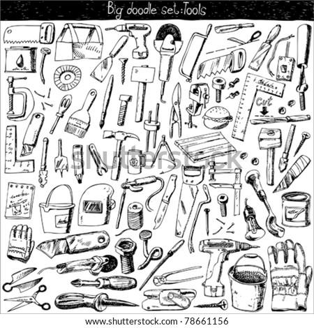 big doodle set - tools
