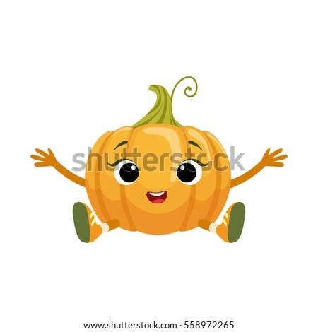 A Big Pumpkin on Wooden Cart - Download Free Vectors, Clipart Graphics &  Vector Art
