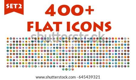 webinar flat icon set download free vector art stock graphics