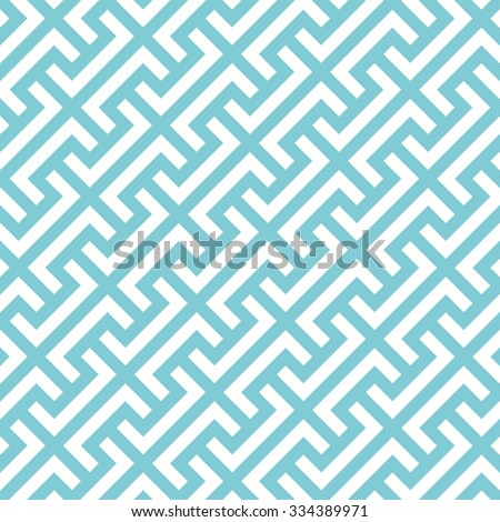 Big Greek keys diagonal pattern background. Vintage retro vector design element.
